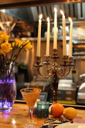 February's Saffron Supper Club took place at Josh's Deli.