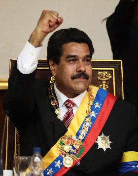Nicolás Maduro, former vice president under Hugo Chavez, wins Venezuela's presidential election with 50.7% of the vote. His challenger Henrique Capriles received 49.1%.