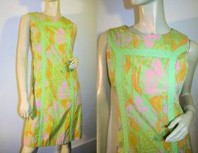 "One of the classic ""Lilly"" dresses by Palm Beach designer Lilly Pulitzer."