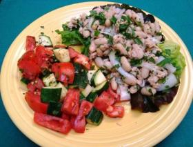 Tuscan Bean and Tuna Salad