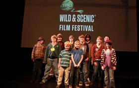 Kids at the Wild & Scenic Film Festival based in Nevada City, California.