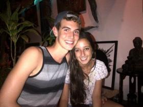 Miami-Dade high school seniors Adam Tzur and Natalie Hoberman.