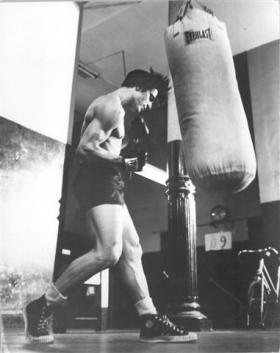 Miami City Ballet founder Edward Villella in his boxing days.