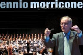 Academy Award-winning composer Ennio Morricone