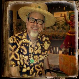 "Jeff ""Beachbum"" Berry at The Museum of the American Cocktail in New Orleans, the city where he now resides"
