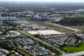The campus of Florida Atlantic University in Boca Raton.