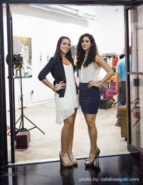 Miami natives and Vividly co-founders, Sabrina (left) and Silvia Scandar.