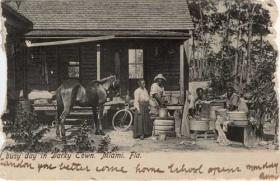 A postcard from Overtown, 1907.