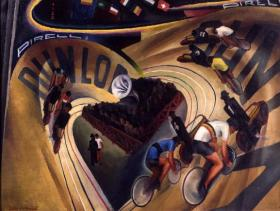 """""""Le Vélodrome"""" by Belgian artist Marcel Stobbaerts, among the museum's works that will be accessible online."""
