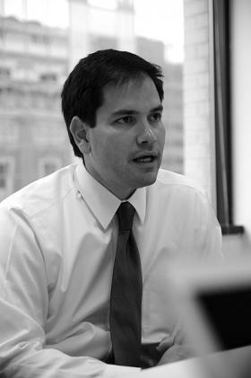 U.S. Sen. Marco Rubio has taken heat from both sides for his English proficiency proposal.