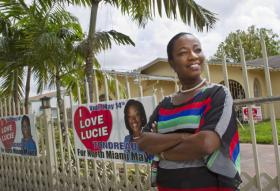 North Miami Mayor-Elect Lucie Tondreau was one of several of that city's candidates at the center of real-life Haitian radio drama.