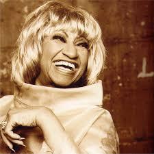 Singer Celia Cruz
