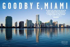 Rolling Stone's article imagined a future where sea level rise forces Miami to become abandoned.