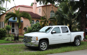 Pick up trucks used to be banned in Coral Gables