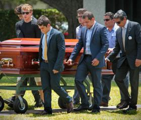 The funeral for 18 year-old Israel Hernandez Llach took place this Wednesday, but questions remain whether Miami Beach police acted appropriately when they apprehended him.