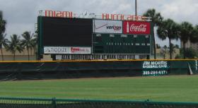 A baseball stadium at the University of Miami was renamed in honor of Yankees player Alex Rodriguez after he donated $3.9 million to renovate the stadium in 2003.
