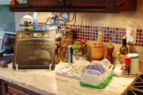 Christina Gomez Pina's kitchen counter