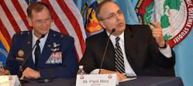 Frank Mora, Deputy Assistant Secretary of Defense for the Western Hemisphere, speaking at the National Defense University in Washington, D.C.