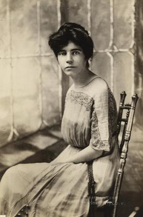 Suffragist Alice Paul wrote the Equal Rights Amendment. It was introduced in every session of Congress from 1923 until 1972, when it finally passed.