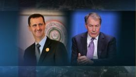 Bashar al-Assad and Charlie Rose