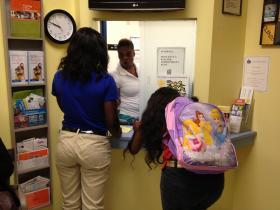 The school-based health clinic at North Miami Beach Senior High School is a full-service clinic.