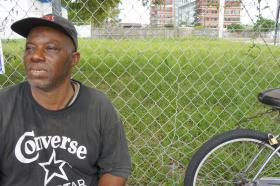 James Lature is one of the chronically homeless individuals that the City of Miami is trying to get off the streets with a little 'tough love.'