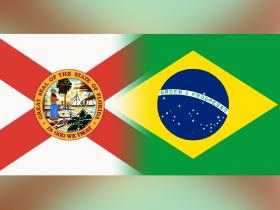 Florida-Brazil flags