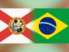 Florida-Brazil flags