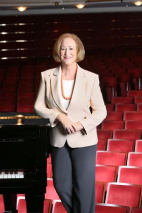 Jane Mitchell chairs the board of directors for the Kravis Center for the Performing Arts.