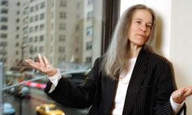 The Pulitzer Prize winning poet Sharon Olds.