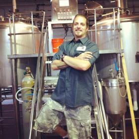 Wynwood Brewing Company's new brewmaster, Nik Mebane.