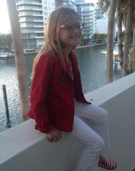 Alejandra Andavert-Seeman loves sea turtles and worries about sea-level rise.