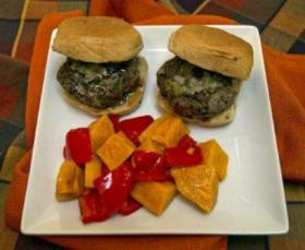 Autumn Burger Sliders