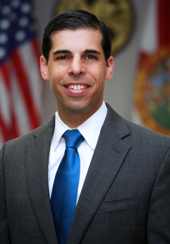 Jesse Panuccio is in his first year as executive director of the Florida Department of Economic Opportunity. The department oversees unemployment benefits.