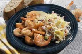 Key West Shrimp with Tropical Coleslaw