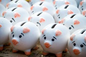 How many piggy banks do you need?