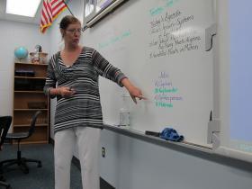 Sarasota County math teacher Brenda Fuoco.