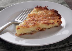 Potato kugel from 'The Book of Schmaltz: Love Song to a Forgotten Fat'