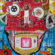 """A Cara de Reprovação"" (The Face of Disapproval) by Brazilian artist Sesper, at Brazil ArtFair"