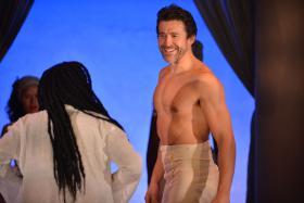 Jonathan Cake as Mark Antony in 'Antony and Cleopatra'
