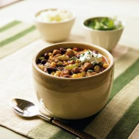 Mexican Pork and Bean Chili