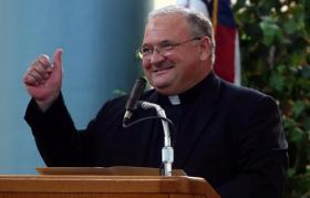 The new Auxiliary Bishop of the Archdiocese of Miami, Peter Baldacchinno.