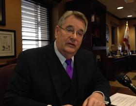 Senate President Don Gaetz doesn't want in-state tuition for undocumented students. He does like the idea of university performance funding.