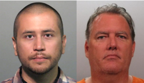 Would George Zimmerman (shown left) and Michael Dunn (right) have been convicted for the deaths of Trayvon Martin and Jordan Davis, respectively, if the prosecution had pursued less serious charges?