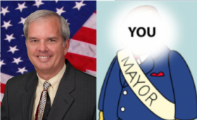 "Mayor Jeff Porter of Homestead says the media given people the wrong idea about the role of the mayor: ""I'm not the guy in charge of everything."""