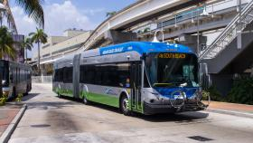 More people are riding on South Florida's public transportation.