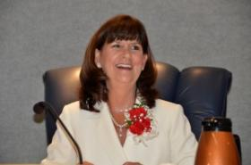 Newly elected Boca Raton Mayor Susan Haynie.