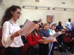 FIU's newly formed chorus is one of hundreds of 'complaint choirs' worldwide.