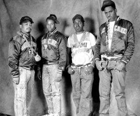 An archive photo of 2 Live Crew