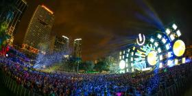The 2014 Ultra Music Festival. Bayfront Park will continue to host the festival.